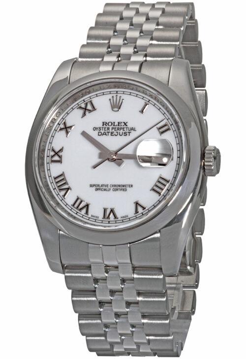 Rolex Datejust 36 116200 White Dial