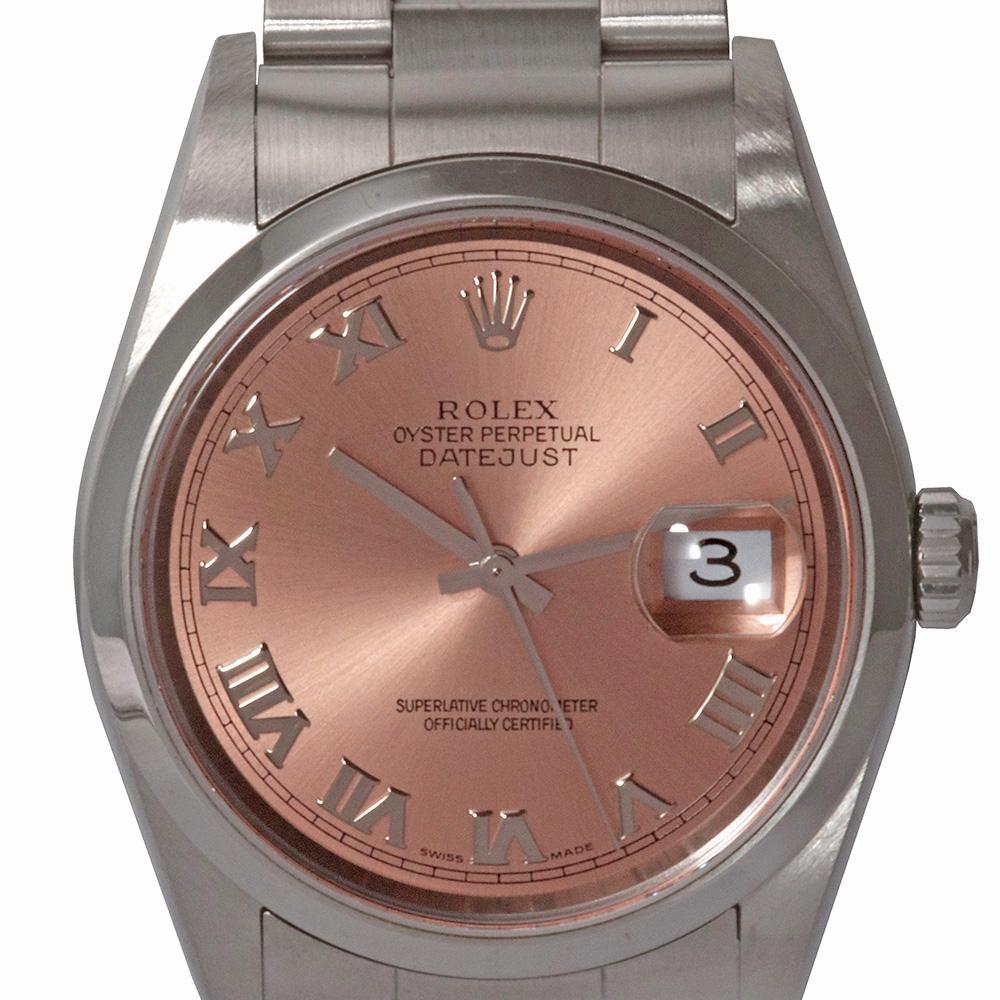 Rolex Datejust 36 Pink dial