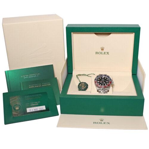 Rolex GMT-Master II 126710BLRO