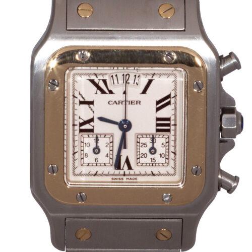 Cartier Galbee Santos Chronograph