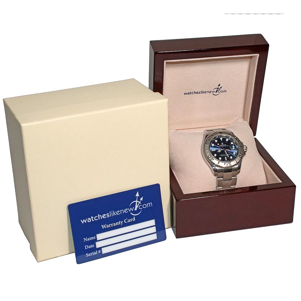 Rolex Yacht-Master 40 16622 Blue dial